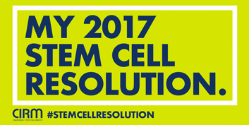 Stem Cell Resolution Twitter graphic light green