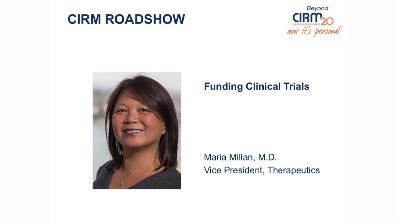Funding Opportunities for Stem Cell-Based Clinical Trials