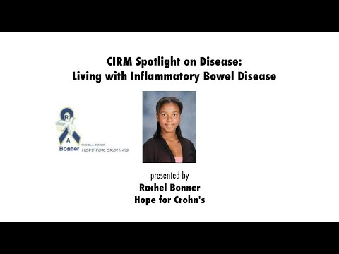 Living with Inflammatory Bowel Disease: Rachel Bonner, Hope for Crohn's