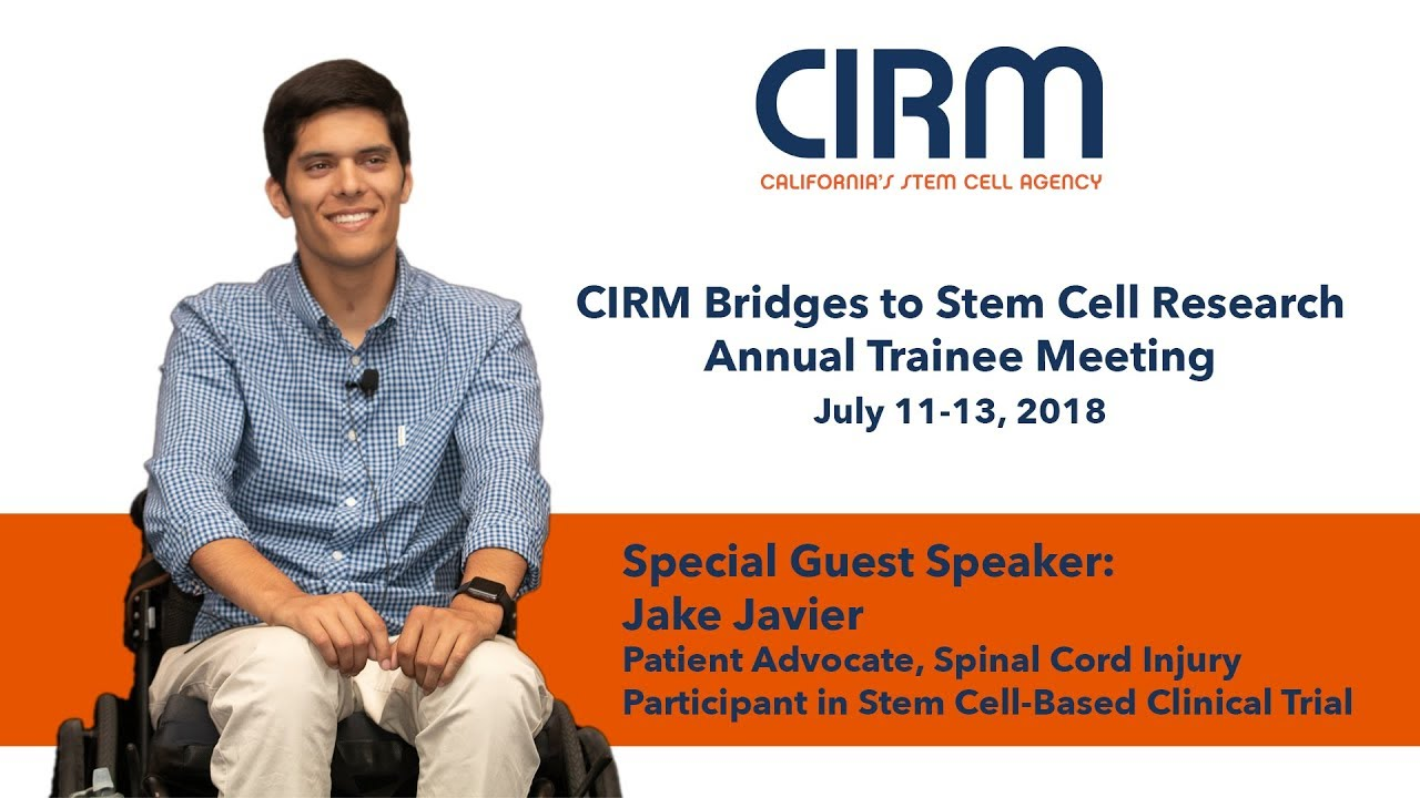 Spinal Cord Injury and Stem Cells: Jake Javier, Clinical Trial Participant