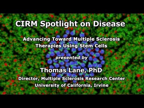 Advancing Toward Multiple Sclerosis Therapies Using Stem Cells