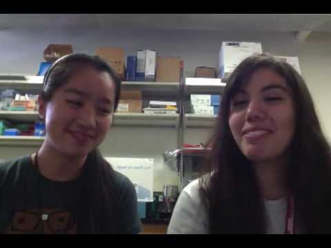 Charmaine Chan & Rocio Ochoa - High School Stem Cell Research Intern June 2013