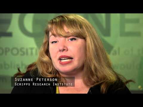 Suzanne Peterson, Scripps Research Institute - CIRM Stem Cell #SciencePitch Challenge